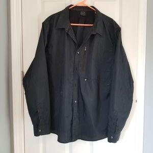 Oakley long sleeve button down